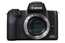 Canon Eos M50 24.1MP Mirrorless Camera Body Only - Black