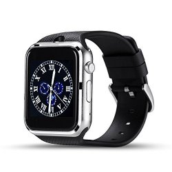Elftear GD19 Smart Watch Cell Phone Bluetooth Wristwatch Fitness Tracker With Camera For Android Bl