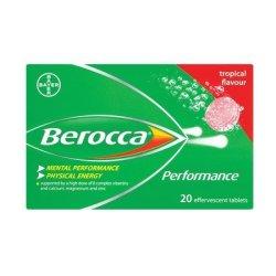 Berocca Multi Vitamin Effervescent Tablets Tropical 20EA