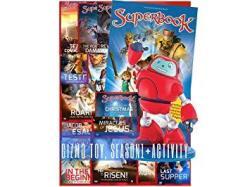 Superbook Gizmo Toy Season 1 Full Set 13 Episodes + Activity Book