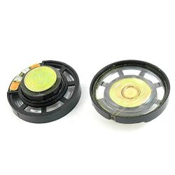 uxcell 0.25W 8 Ohm DIY Speaker 29mm Round Shape Replacement Loudspeaker 10pcs