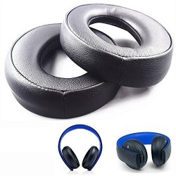 Replacement Ear Pads Cushions Headphone Pillows Earpads For Sony PS3 PS4 Gold Wireless Playstation 3 Playstation 4 CECHYA-0083 S