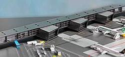 Herpa Wings 528283 1 500 Scale Amsterdam Airport Pier G Corridor And Pier H For Airport Diorama