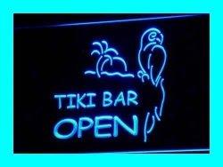ADV PRO I067-B Open Tiki Bar New Displays Pub Neon Light Signs