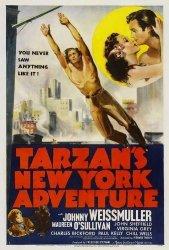 New York Tarzan's Adventure Poster Movie 27 X 40 Inches - 69CM X 102CM 1942