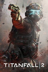 """POSTER STOP ONLINE Titanfall 2 - Gaming Poster Print Jack Size: 24"""" X 36"""" Black Poster Hanger By"""