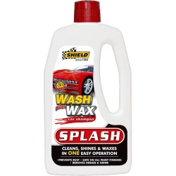 Shield - Splash Wash & Wax Car Shampoo 1L