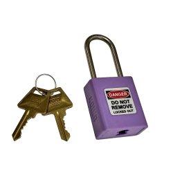 Union Lockout Padlock Purple Kd