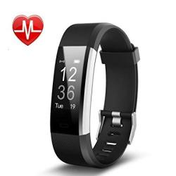 Redgo Fitness Tracker Hr Heart Rate Monitor Activity Tracker Watch With Gps Tracker Step Counter Sleep Monitor IP67 Waterproof Bluetooth Pedometer