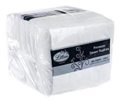 Premium White Napkins 3 Ply Dinner Napkin Cloth Like Value Pack 300 Count