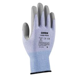 Uvex Unidur Cut Protection Safety Gloves - Blue Grey