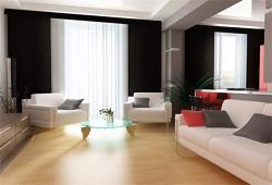 Csfoto 7X5FT Background For Classic Living Room Photography Backdrop Modern Design Sofa Bright Apartment Home Indoor Interior Cl
