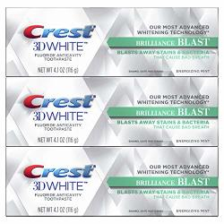 Procter & Gamble - HABA Hub Crest 3D White Brilliance Blast 4.1OZ Triple Pack
