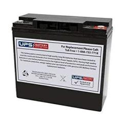 VMAX V20-600 Backup Deep Cycle 20ah Battery Compatible with Tycon UPS-DC1224-18 Outdoor