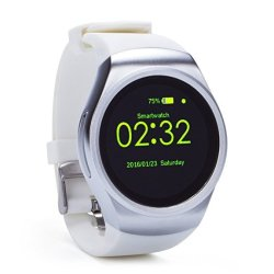 Kingwear KW18 Smart Watch in White