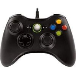 Wired Controller For Xbox 360 Black