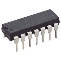 "Jameco Electronics 74LS08 Quad 2-INPUT Positive And Gate DIP-14 1.5"" Pack Of 20 - 2238522"