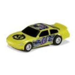 Scalextric Micro - Us Stock Car Green NO6 - 1:64 Scale