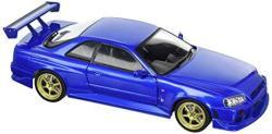 Greenlight 19032 1999 Nissan Skyline Gt-r R34 Bayside Blue 1 18