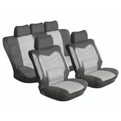 STINGRAY Grandeur Car Seat Cover Set Grey black 1