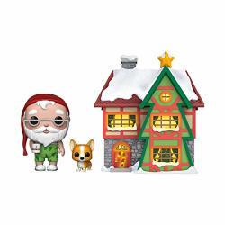 Funko 44423 Pop. Town: Holiday-santas House W santa & Nutmeg Collectible Figure Multicolour Multicolor
