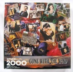 Springbok By Hallmark Gone With The Wind 2000 Interlocking Pieces Puzzle