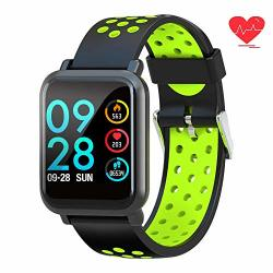 Fitness Tracker Smart Watch Waterproof Activity Tracker With Heart Rate Monitor Calorie Pedometer Sms Call Smart Bracelet For Ios Android Phone
