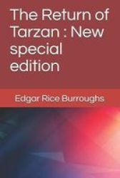 The Return Of Tarzan - New Special Edition Paperback