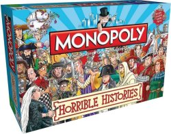 Monopoly: Horrible Histories Board Game