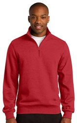 Sport-Tek Men's 1 4 Zip Sweatshirt XXL True Red