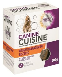 Canine Cuisine Weight Management Biscuits - 500G