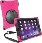 "Tuff-Luv Armour Jack Case Stand and Strap for iPad 10.5"" 2017 in Pink"