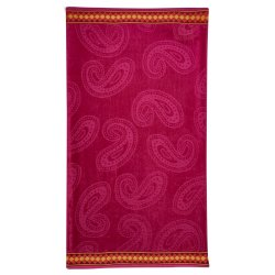 Always Home Paisley Embossed Beach Towel