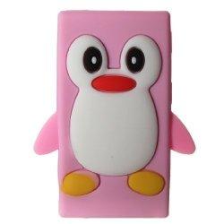 Tsmine Technolgo Co, Ltd Tsmine Apple Ipod Nano 7TH Generation Penguin Cartoon Case - Cute 3D Penguin Soft Silicone Back Washable Cover Case Protective Skin For Ipod Nano