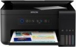 Epson Ecotank Its L4150 A4 3 In 1 Inkjet Printer Print Copy Scan And  Borderless Photo Printing Wifi Wifi Direct Enables Printing Documents From