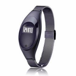 Women Z18 Jewels Screen Intelligent Blood Pressure Heart Rate Monitor Pedometer Sm