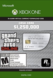 Grand Theft Auto V: Great White Shark Cash Card - Xbox One Download Code |  R | Accessories | PriceCheck SA