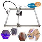 1600MW Laser Cnc Engraving Machine Diy 3550 Cnc Machine Precison 0.1MM With USB Interface Carving Machine For Leather Wood Plast
