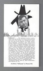 "Tom Bosley""fiorello "" Jerry Bock And Sheldon Harnick 1959 New York Mirror Ticket Ordergram"