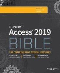 Access 2019 Bible Paperback
