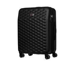 """WENGER Lumen 24"""" 64CM Expandable Suitcase Black"""