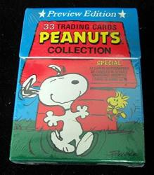 1992 Peanuts Preview 33 Cards Sealed Factory Set