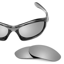 2edcaf730f Revant Polarized Replacement Lenses For Oakley Monster Dog Titanium  Mirrorshield