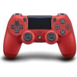 Sony New Playstation Dualshock 4 V2 Controller Red
