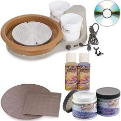 Speedball Portable Artista Table Top Pottery Wheel 11 Inch Wheel Head 25 Lb. Centering Capacity Artista