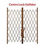 Xpanda Centre Lock Saftidor Bronze Bronze 2200mm 2600mm Width