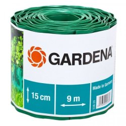 Gardena Lawn Edging - Green 15CM 9M Roll
