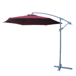 Umbrella - Cantilever 3m - Burgundy