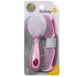 Safety 1ST - Easy Brush comb Set Pink