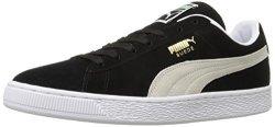 Puma Suede Classic Sneaker Black white 11 M Us Men's